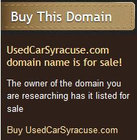 UsedCarSyracuse.com domain name is for sale! The owner of the domain you are researching has it listed for sale. Buy UsedCarSyracuse.com
